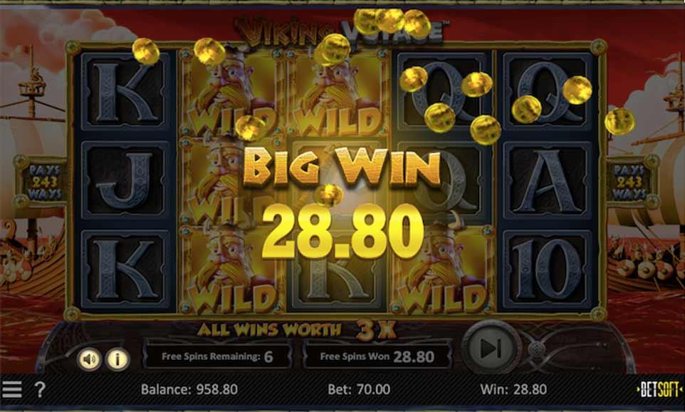 Viking Voyage Big Win Bonus