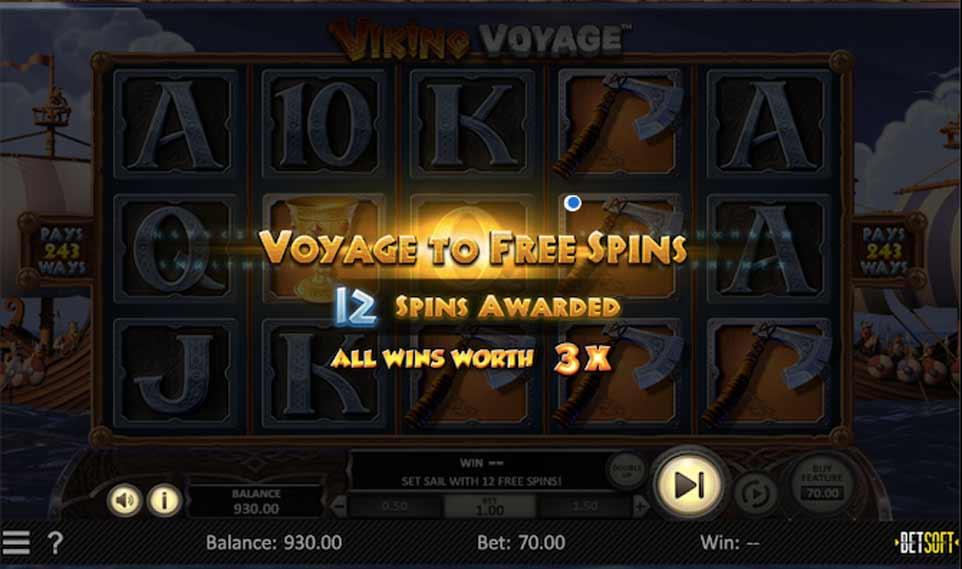 Viking Voyage Free Spins