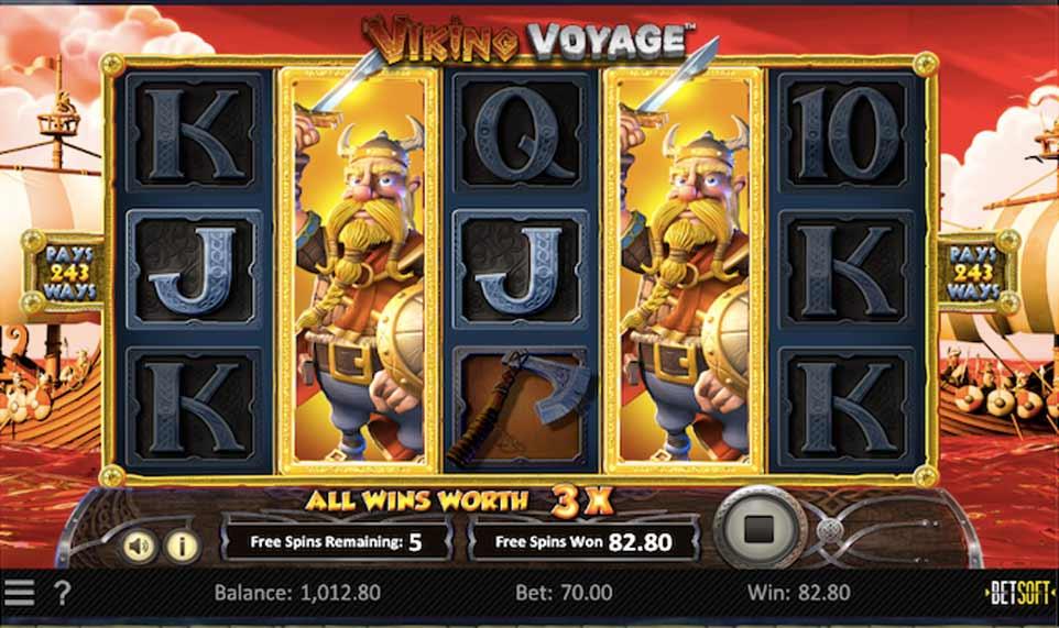 Viking Voyage Stacked Wild