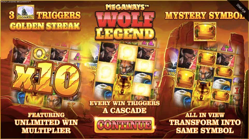 Wolf Legend Megaways Intro