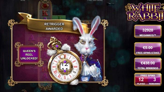 Buy a bonus in White Rabbit for 10